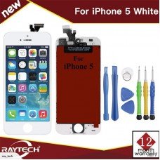 Replacement Apple iPhone 5 LCD Display & Touch Panel, White.