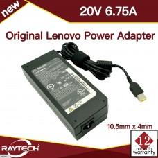 [M56]Original Lenovo Power Adapte 20V 6.75A 135w pin inside 10.5mm x 4mm
