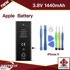 New 1440mAh Li-ion Battery Replacement for Apple iPhone 5 5G with flex cable
