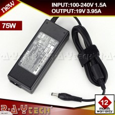 (M4)75W AC Adapter Charger for TOSHIBA Satellite C650 C660 C850 S55-A PA5179U-1ACA