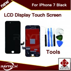 Replacement Apple iPhone 7 LCD Display & Touch Panel, Black.