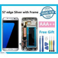 Samsung S7 Edge G935 silver with frame