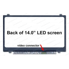 [K2]B140RTN02.3 HW0A 14.0 LCD Screen Top and Bottom Brackets resolution 1600x900 Slim 30pin right