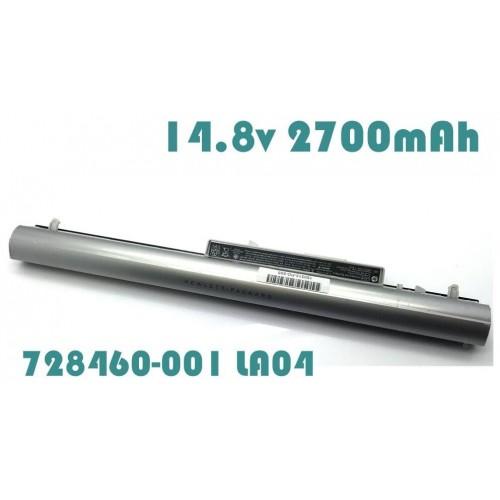 [C44]HP Original Battery 14 8v 2700mAh for HP Pavilion TouchSmart 15-n  15-N210DX Battery 728460-001 LA04