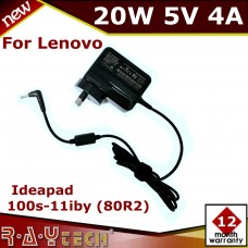 NEW 5V 4A 20W AC Adapter Charger For Lenovo Ideapad 100S-11IBY