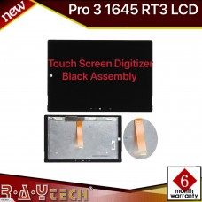 [K10]Microsoft Surface Pro 3 1645 RT3 LCD Touch Screen Digitizer Black Assembly