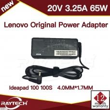 [M66]Original Lenovo Ideapad 100 100S 20V 3.25A 65W  4.0MM*1.7MM Power Adapter