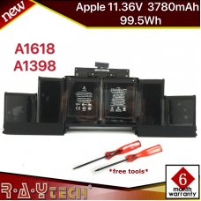 [A57]Original Apple Battery A1618 for Apple MacBook Pro 15'' A1398 Retina 2015