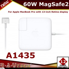 (M28)A1435 Apple 60W Magsafe2 Power Adapter for MacBook pro Macbook air