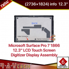 Microsoft Surface Pro 7 1866 12.3'' LCD Touch Screen Digitizer Display Assembly