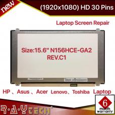 "15.6"" N156HCE-GA2 REV.C1 Screen 1920x1080 Bottom Right 30 PIN"
