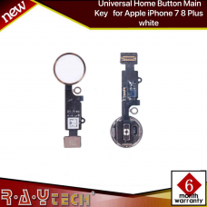 Universal Home Button Main Key for Apple iPhone 7 8 Plus white