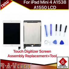[S]Replacement Apple iPad mini 4 LCD  Touch Screen Assembly, white