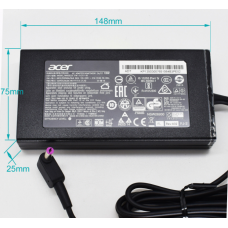 [M75]Genuine Acer 19V 7.1A 135W 5.5x1.7mm Power Charger Adapter PA-1131-16