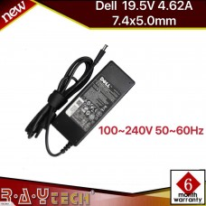 (L37)Original Dell 19.5V 4.62A 7.4x5.0mm 90W LA90PM11 PA-1900-32D Power Adapter.