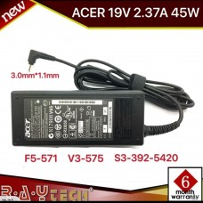[L28]Original adapter 19V 2.37A 45W 3.0mmx1.1mm Power adapter. For Acer Aspire S5 S7 C720 C720P