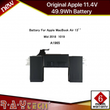 49.9Wh Genuine A1965 Battery For Apple Macbook Air A1932 2018 2019 Years