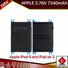 Apple iPad Air 2/iPad 6 A1547 3.76V 7340mAh for A1566 A156