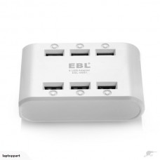 EBL  6  USB ports Travel Charger for mobile phone or tablet