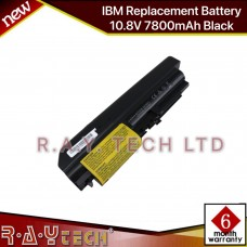 [A21]IBM Replacement Battery 10.8V 7800mAh Black 42T5225 43R2499 42T4530 42T4531 42T5227 42T5262 42T5264 42T5229 41U3196 42t5263 42t5230 41U3197 42T5226 ThinkPad R400 T400 R61 R61I T61 T61P 14.1: Widescreen.