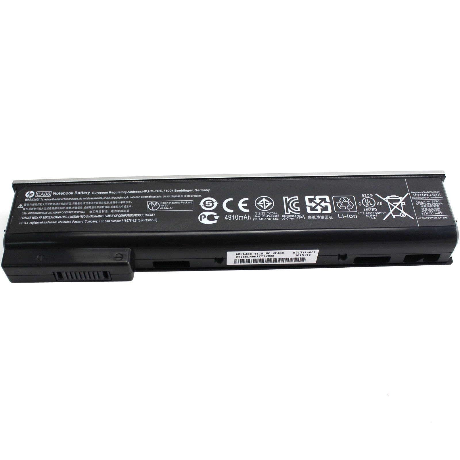 [C53] HP original Battery CA06 CA09 11 1V 4910mAh HSTNN-LB4Z 718678-421 for  HP ProBook 640 G1 645 G1 650 G1 655 G1 Series